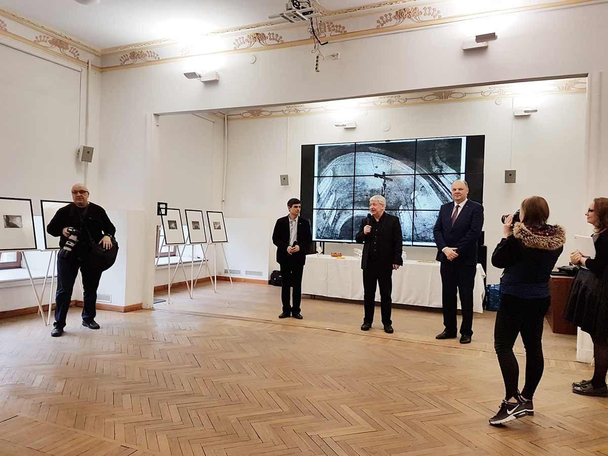 Шаги Майрониса в Санкт-Петербурге в Государственном музейно-выставочном центре РОСФОТО
